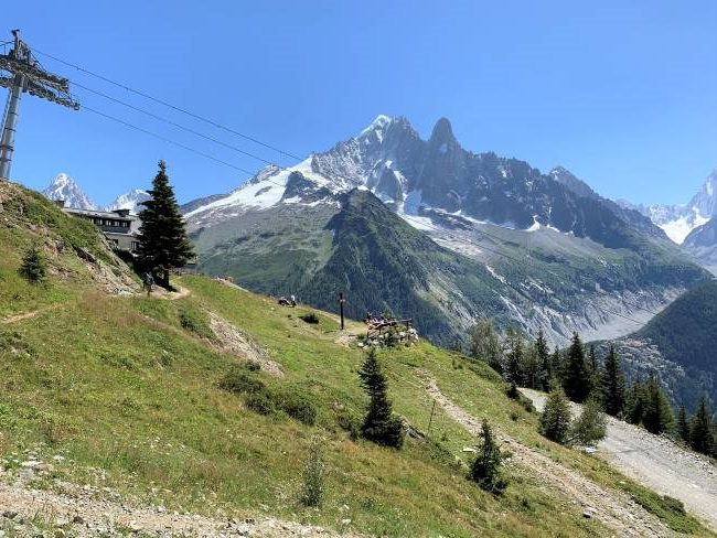 Summer hiking in Chamonix