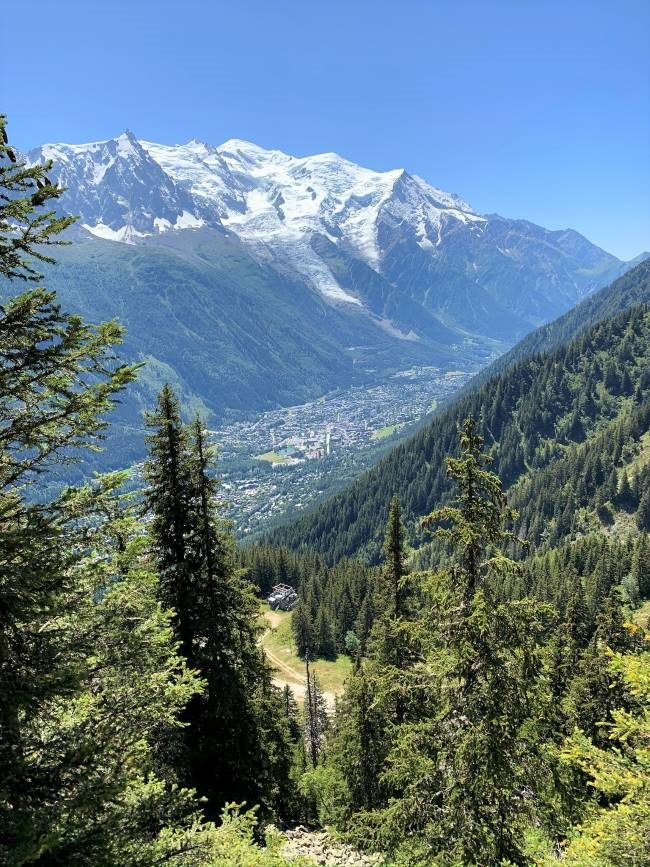 Grand Balcon Sud Chamonix hike