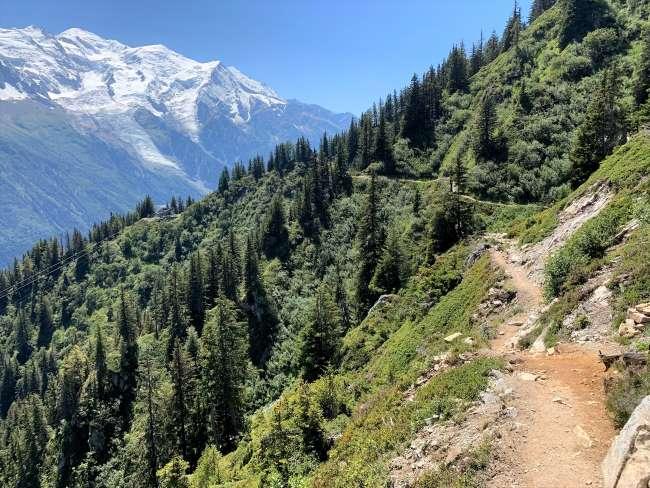 Summer hikes in Chamonix