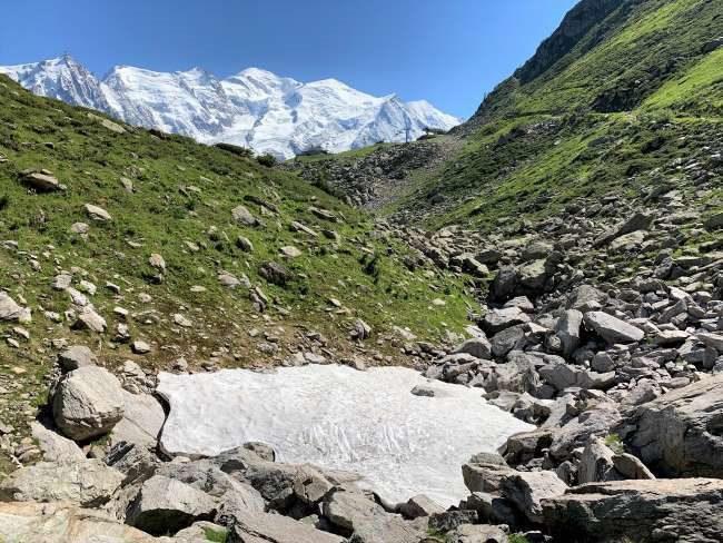 Alps summer hike