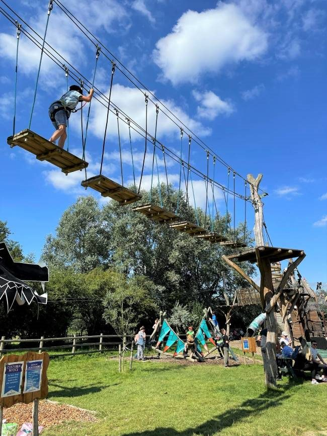 Hobbledown High Ropes Course