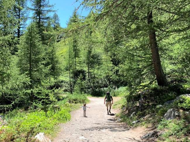Hiking with Kids Aosta Valley