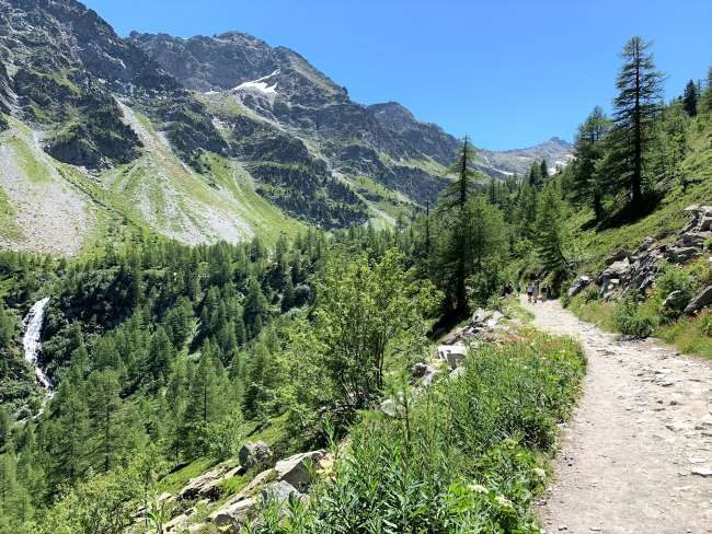 Hike to Lago d'Arpy Morgex