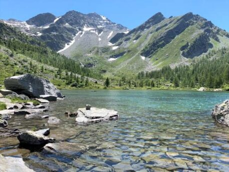 Hike to Lago d'Arpy Italy