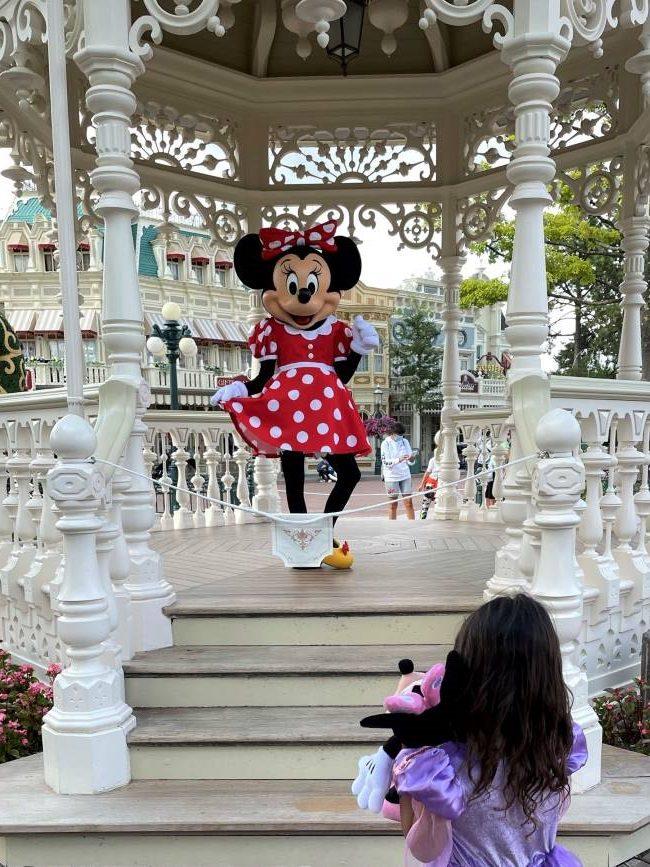 Minnie Mouse Selfie Spot Disneyland Paris