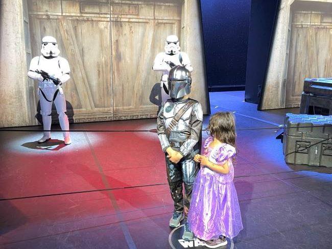 Star Wars Selfie Spot at Disneyland Paris