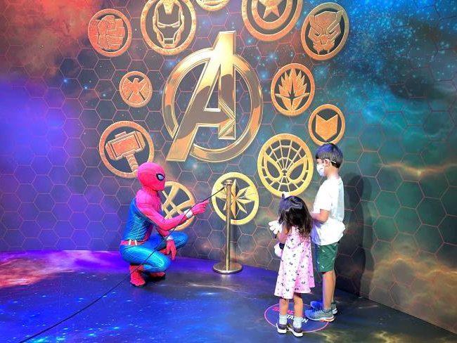 Spider-Man Selfie Spot Disneyland Paris
