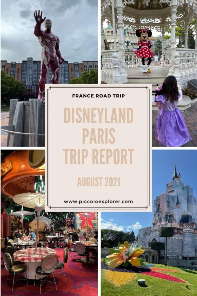 Disneyland Paris Trip Report 2021