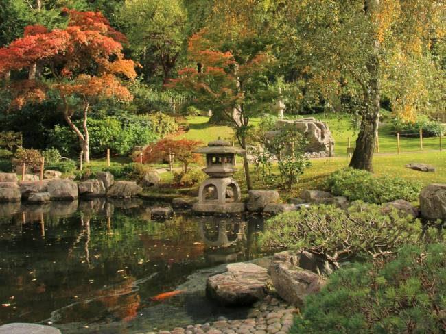 Autumn Holland Park London