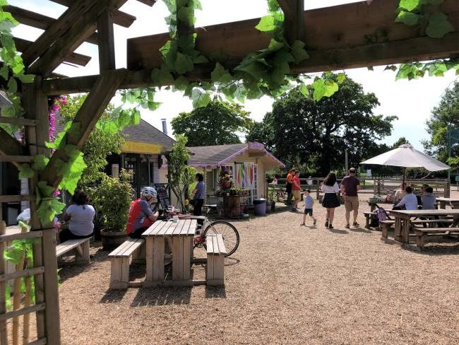 Crockford Bridge Farm Ice Cream Parlour