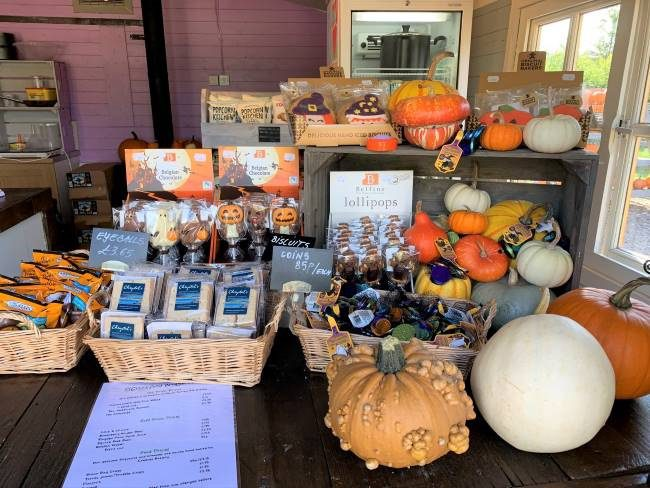 Halloween treats at Crockford Bridge Farm