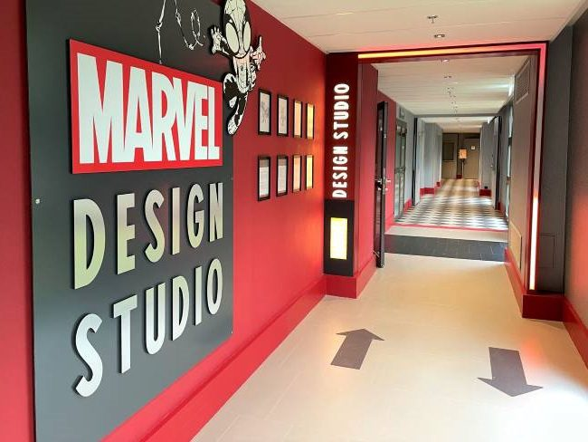 Marvel Design Studio Hotel New York Art of Marvel