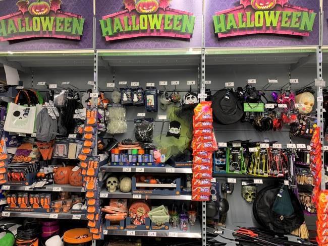 Shop for Halloween decor at London supermarkets
