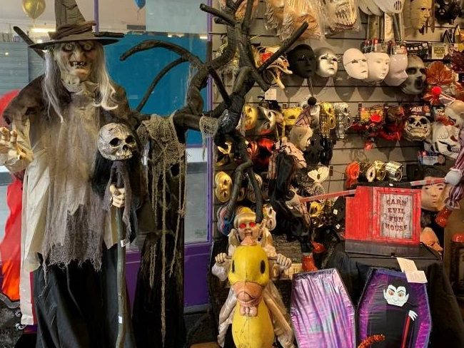 Halloween decorations London