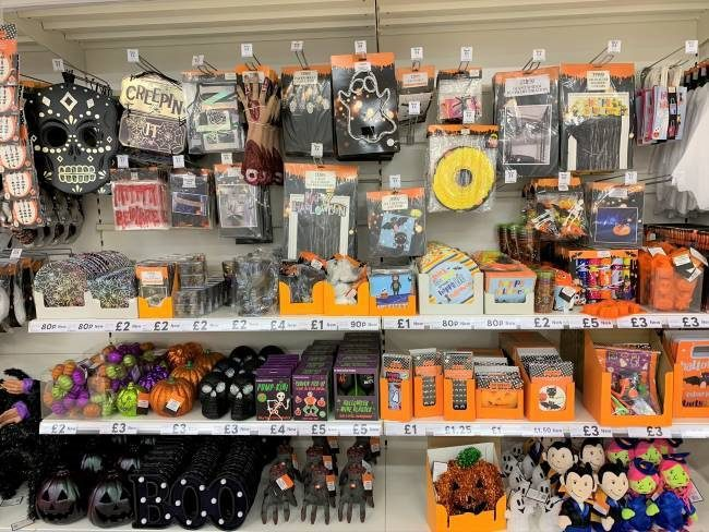 Halloween in London for kids