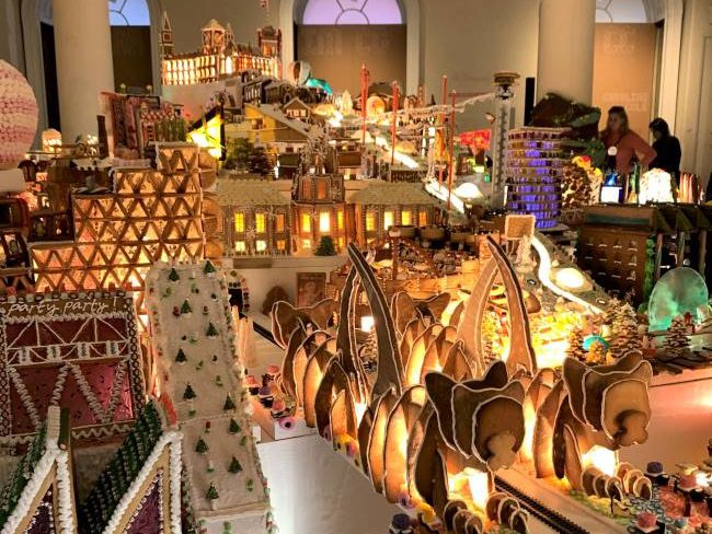 Gingerbread City Exhibition London
