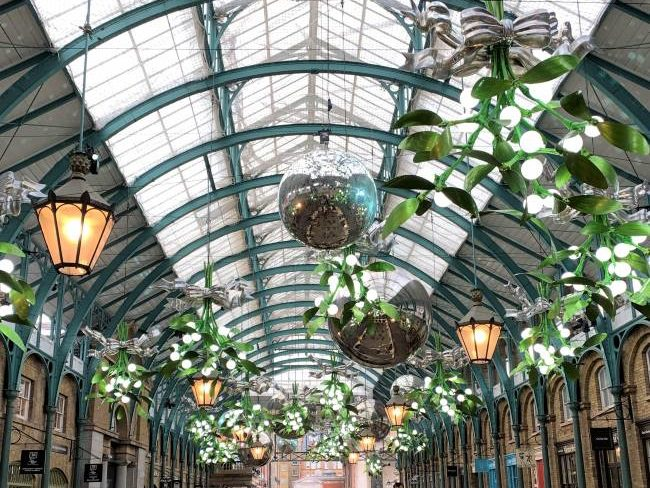 Covent Garden in London with Kids