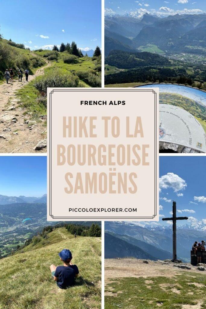 Hike to La Bourgeoise Samoëns