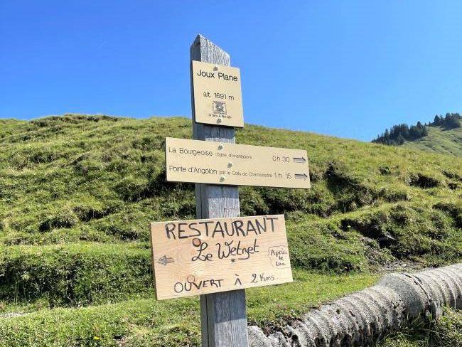 La Bourgeoise Hike in Samoëns