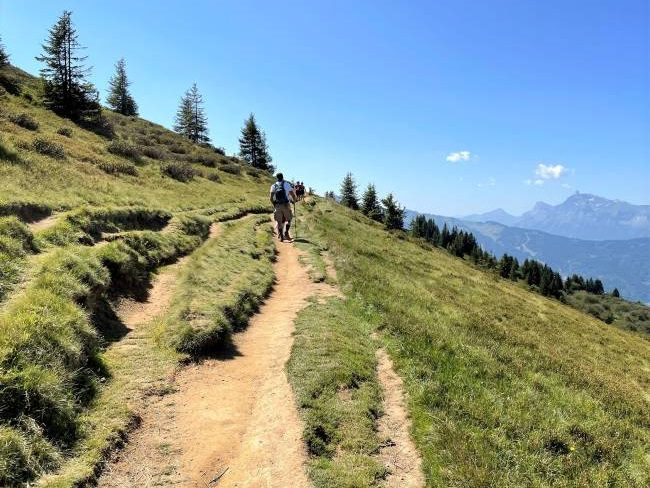 Hiking in Alps with Kids