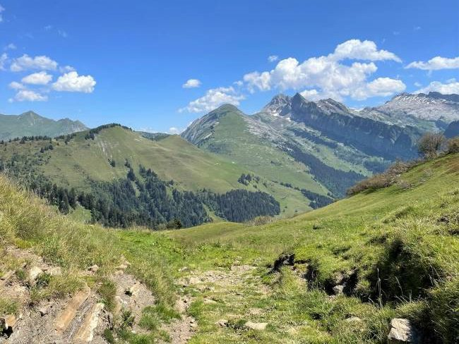 French Alps Summer Hiking