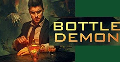 Cover of Stephen Blackmoore's Bottle Demon novel