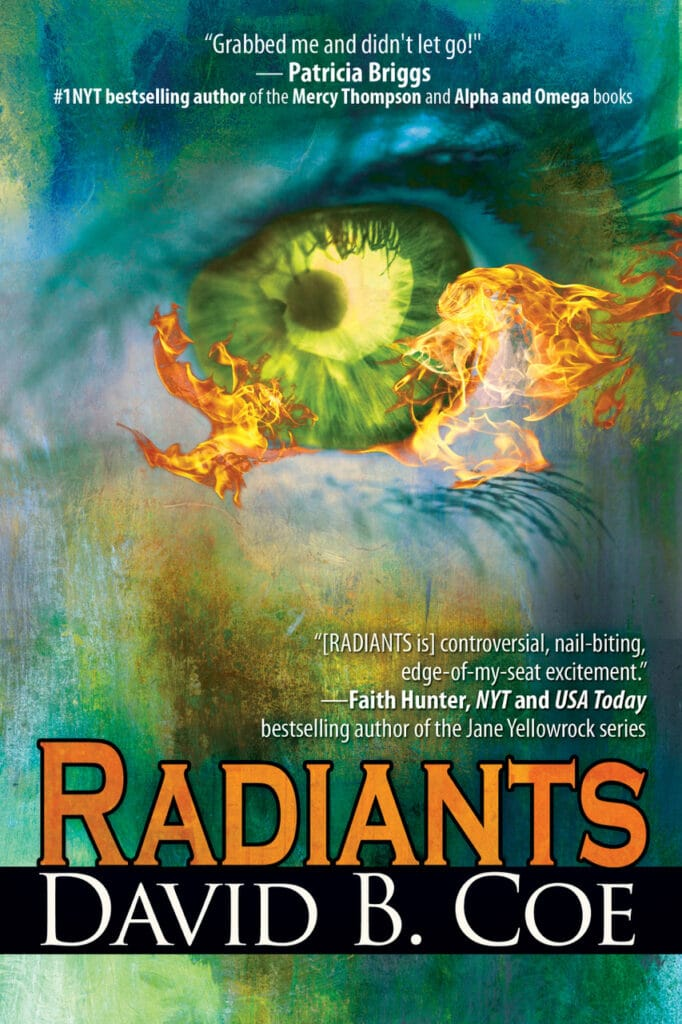 Cover of Radiants by David B. Coe