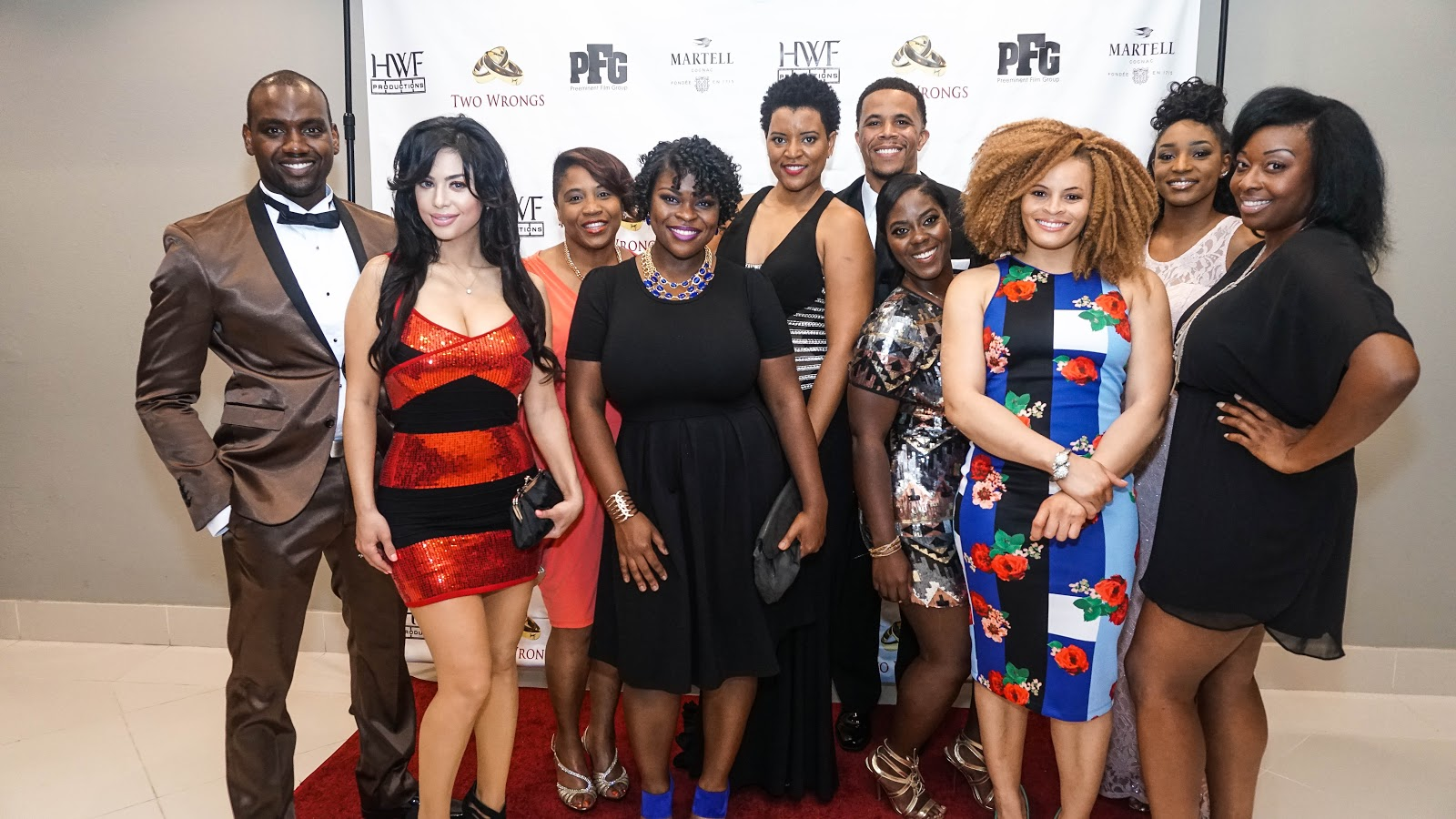 """Schelle Purcell & Preeminent Film Group Present the """"Two Wrongs"""" Red Carpet Premiere Experience"""