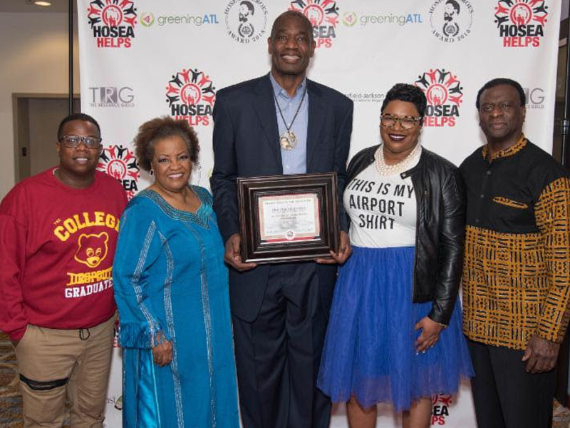 "Dikembe Mutombo, Porsha Williams,  Big Tigger Attend Hosea Helps First Annual  ""Hosea's Heroes"" Award & Charity Brunch"