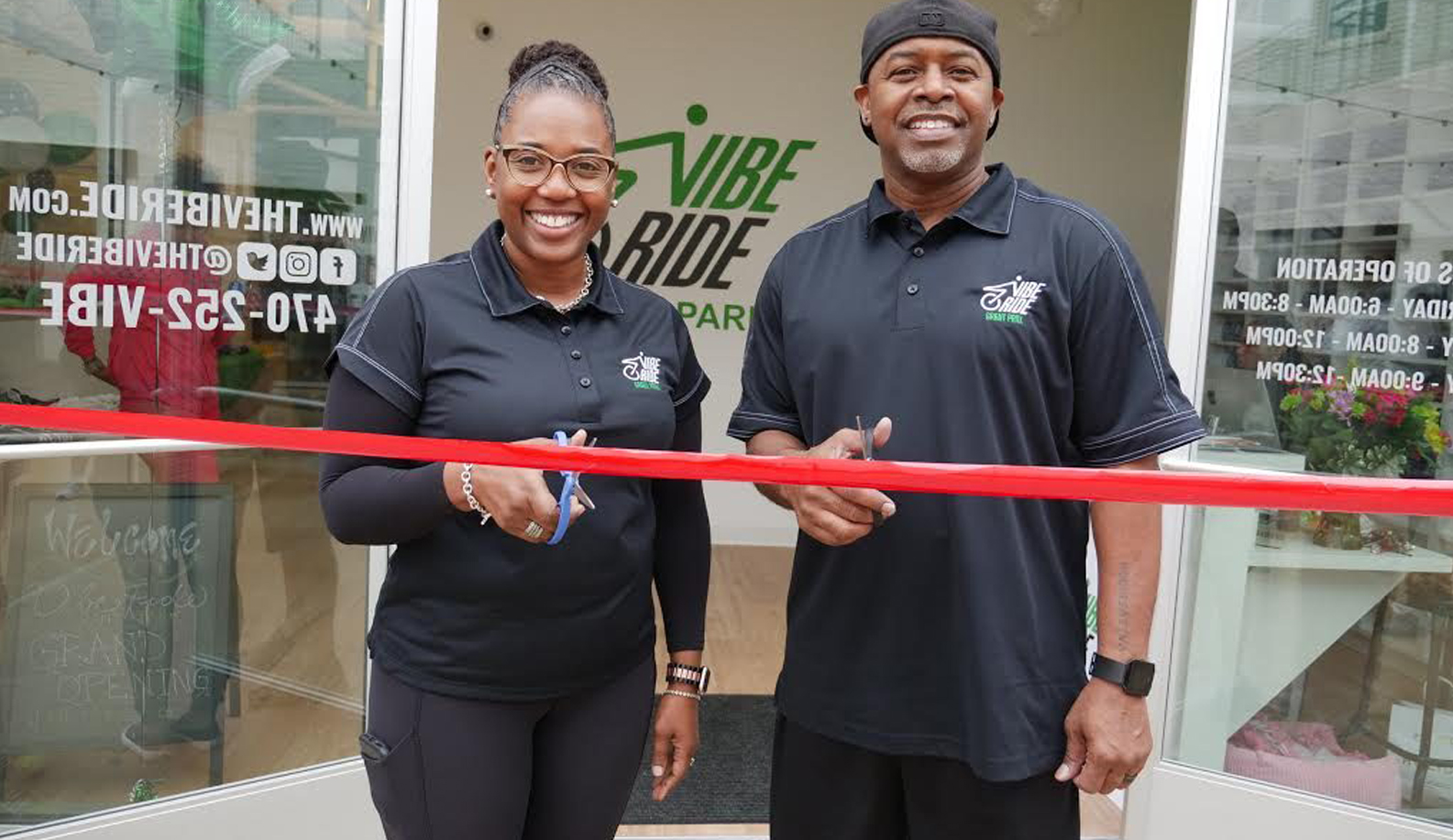 Indoor-Cycling Studio Rolls into Atlanta's Grant Park official grand opening event