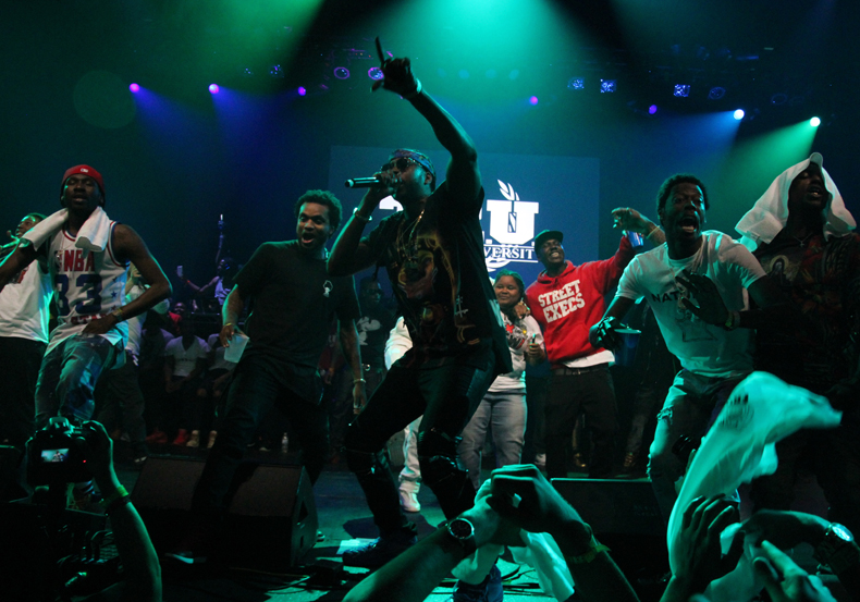 The Dipset Reunion, 2 Chainz, Funkmaster Flex, Travis Porter, K Camp, Cap 1 and More Sizzle at the Street Execs x BeersandTacos SXSW Showcase