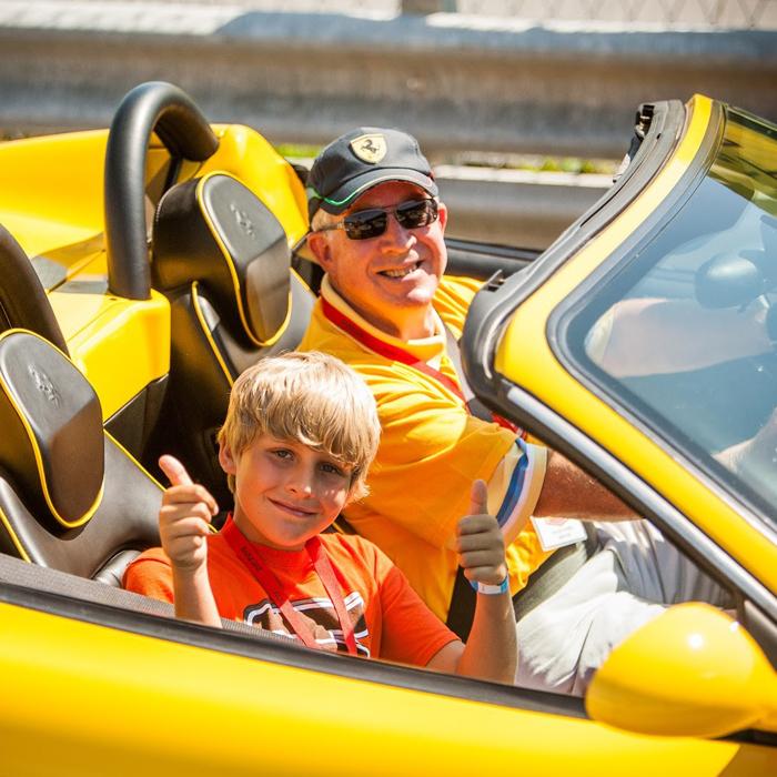 Ferrari Maserati Rides to Remember