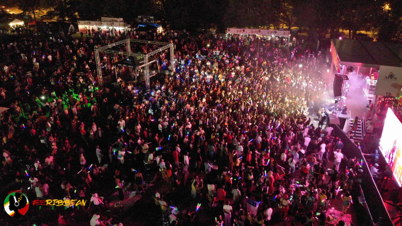Steve Harvey Events Debuts Atlanta's Massively Successful FroRibbean Fest