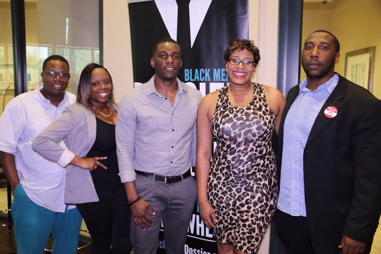 The Louard Life Presents Daniel Dickey Founder of The Resource Guild and the rest of his team Simone Harvin, Krista Davis and Cedric Harrison with Lesroy Louard