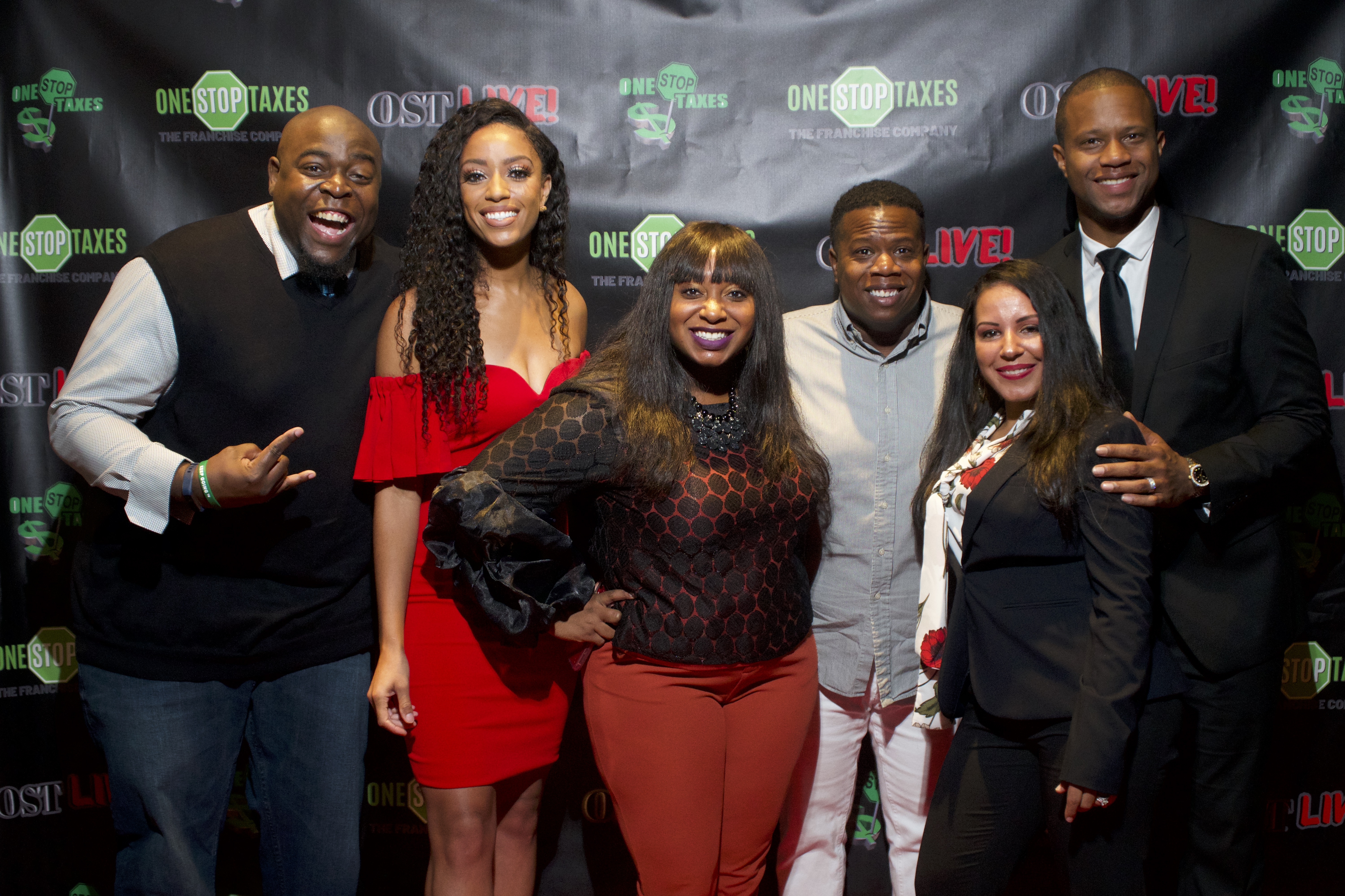 """ONE STOP Taxes Introduces the OST LIVE Conference for Entrepreneurs with Millennial Money Expert Ash """"Cash"""" Exantus, 11Alive's Francesca Amiker, Yung Joc & More"""