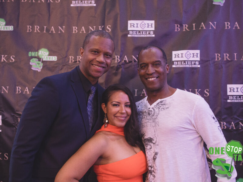 "ONE STOP Taxes Host the Official Red Carpet Memphis Premiere of ""Brian Banks"" Movie"
