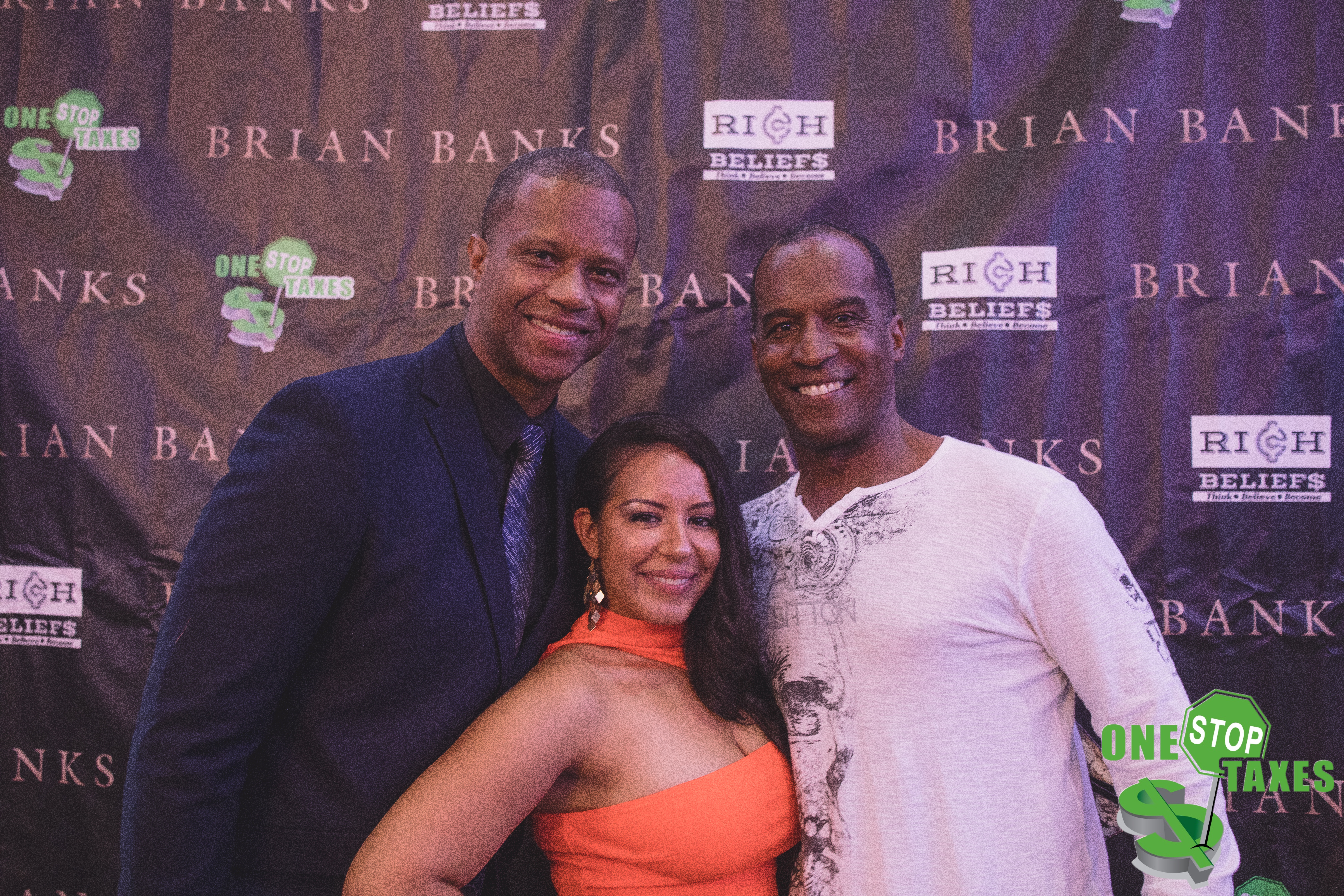 """ONE STOP Taxes Host the Official Red Carpet Memphis Premiere of """"Brian Banks"""" Movie"""