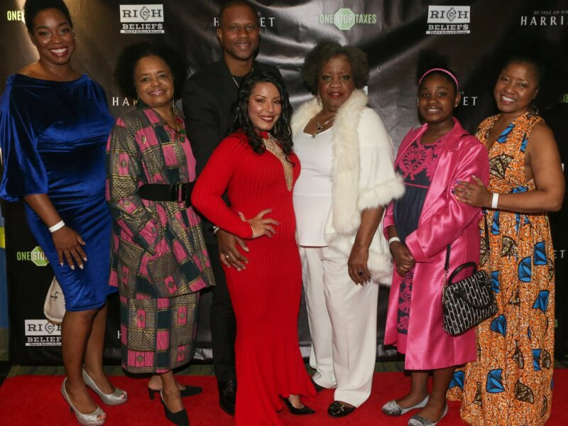 "Bill Duke, Les Brown, Elizabeth Omilami and more attend ONE STOP Taxes Exclusive Red Carpet Premiere of ""Harriet"""