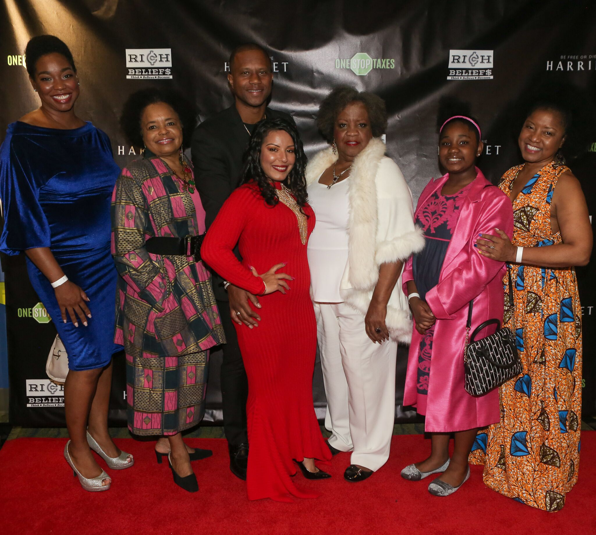 """Bill Duke, Les Brown, Elizabeth Omilami and more attend ONE STOP Taxes Exclusive Red Carpet Premiere of """"Harriet"""""""