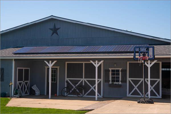 Joe Mast Residential Solar Installation