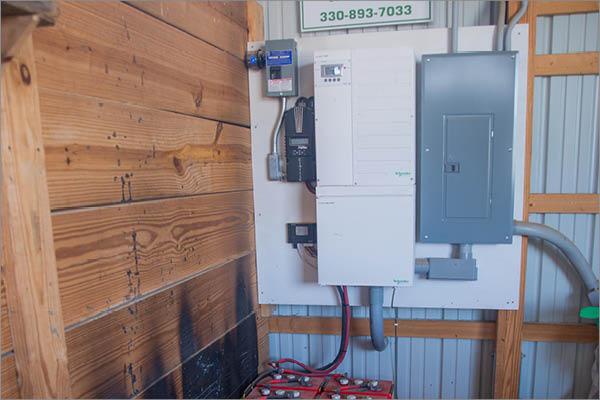 Barn Solar Installation