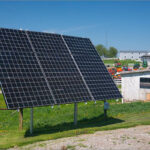 Self Standing Residential Solar Installation