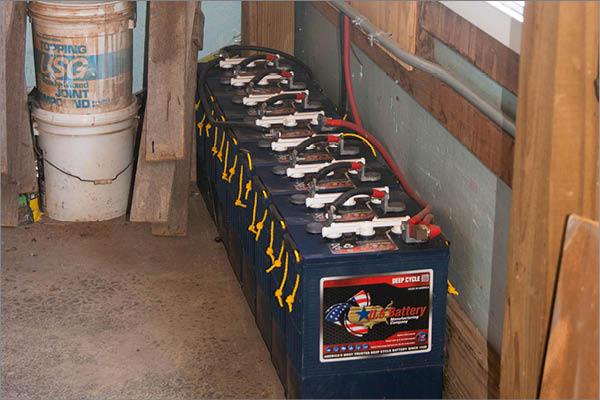 Solar Storage Batteries
