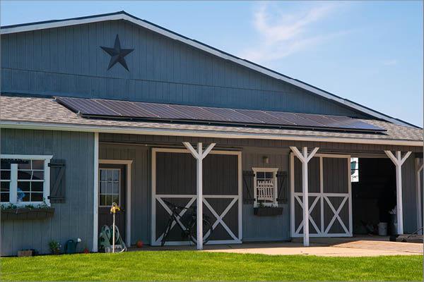 Residential Solar Installation