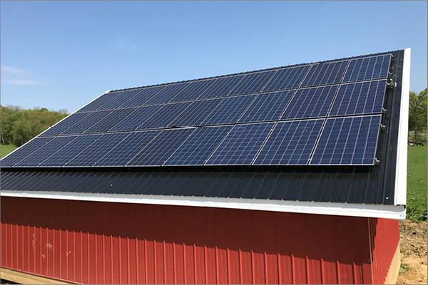 Joe Shrock Residential Solar Installation