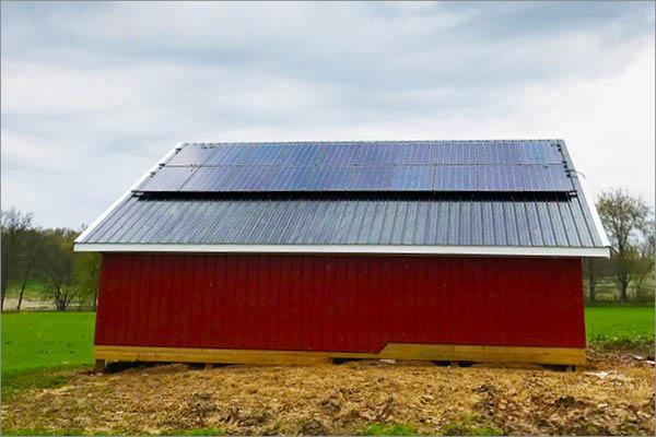 Joe Shrock Residence - Solar Installation