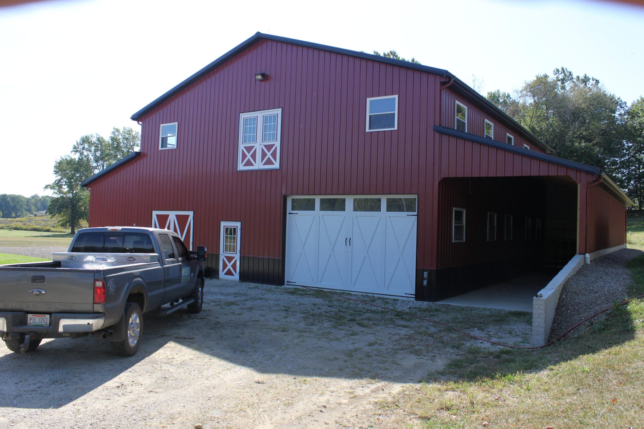 Trail Battery and Solar - David Best Barn