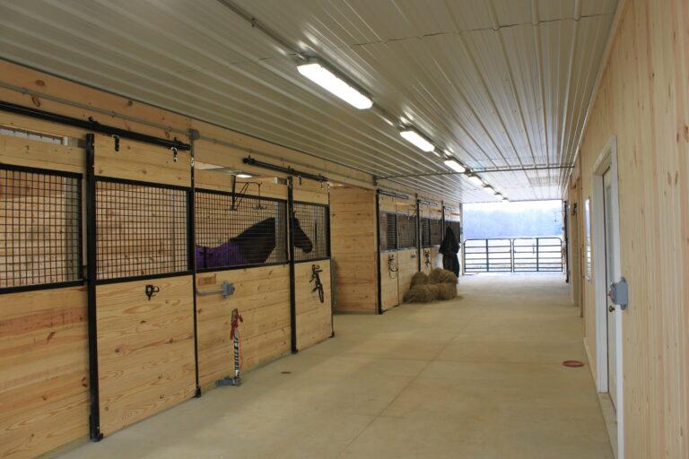 Trail Battery and Solar - Lori Ward Barn