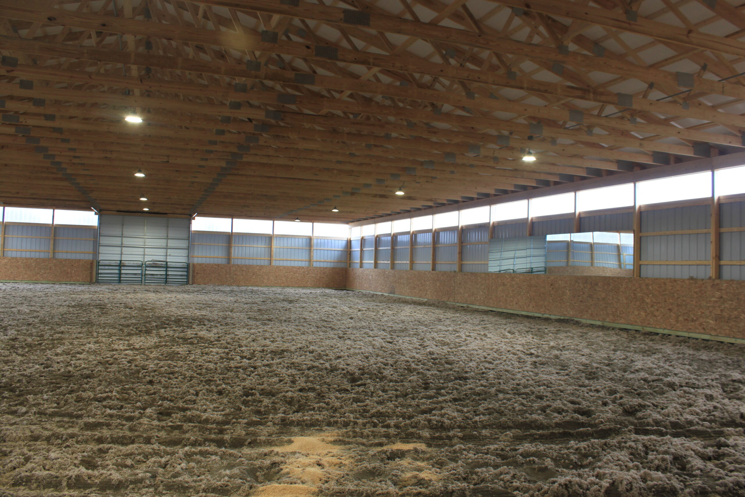 Trail Battery and Solar - Lori Ward Riding Arena