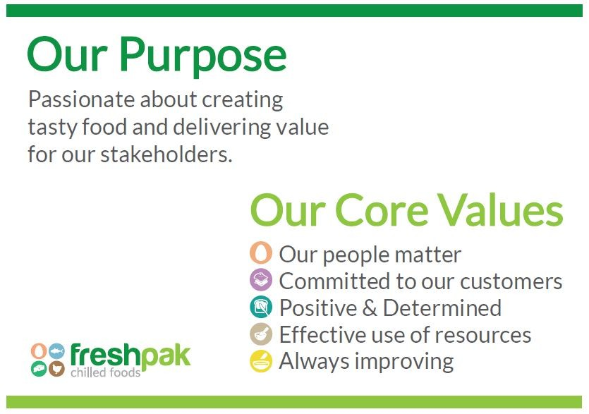 Purpose and Values